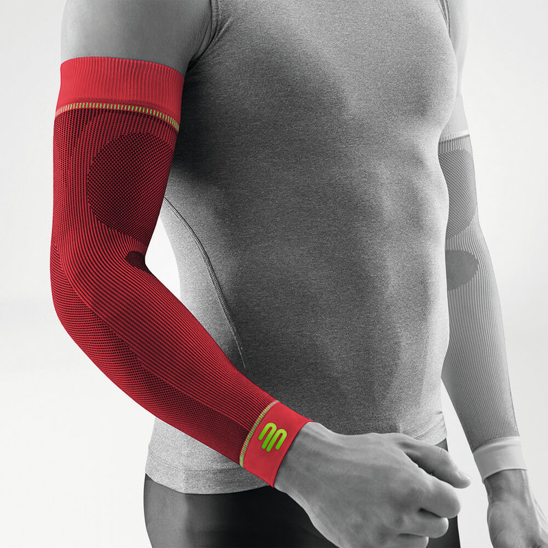 Compression Sport Sleeve red