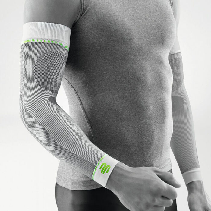 Compression Sport Sleeve white