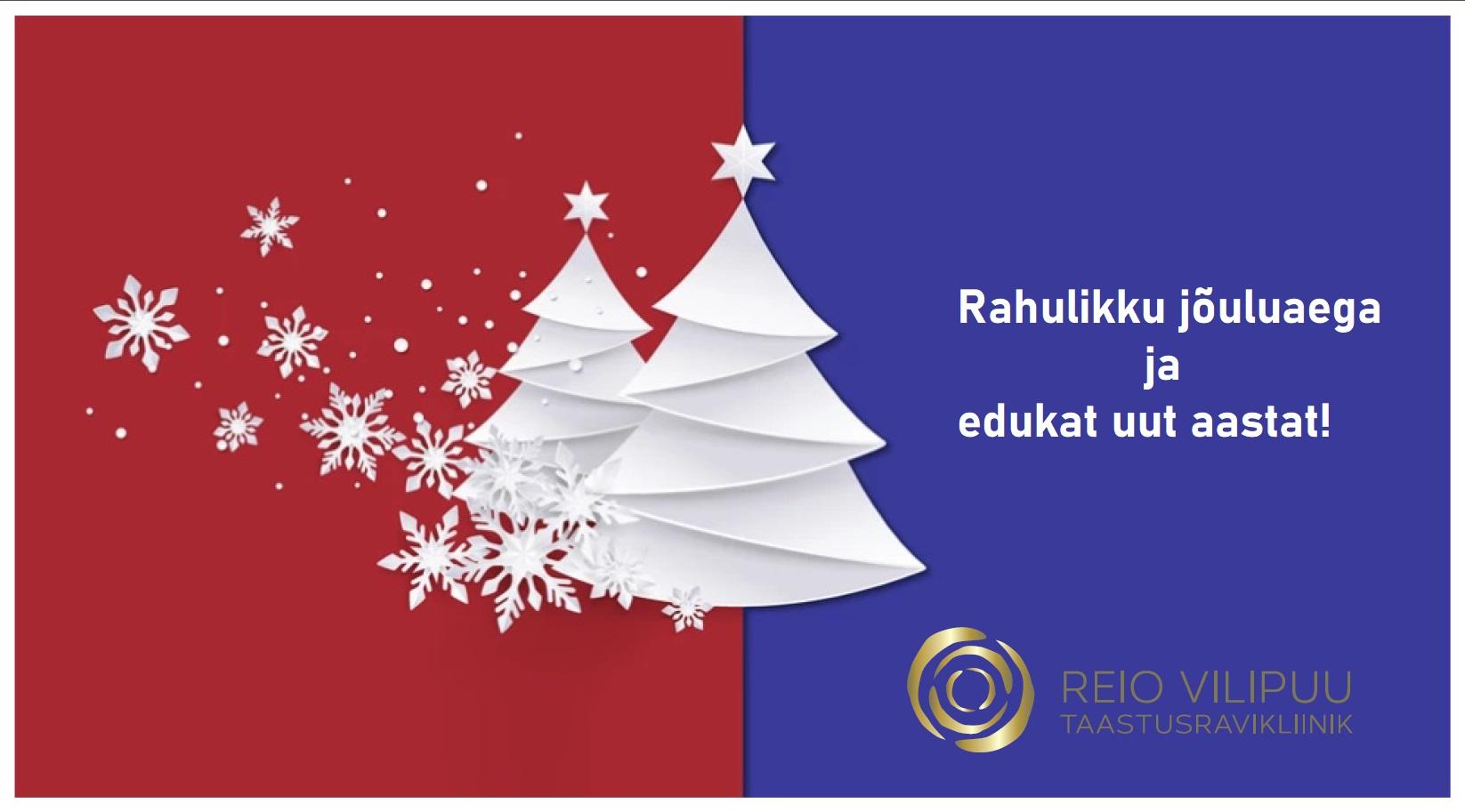 Rahulikku jõuluaega!