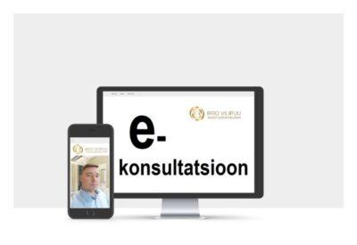 E-konsultatsioonid ja teraapia